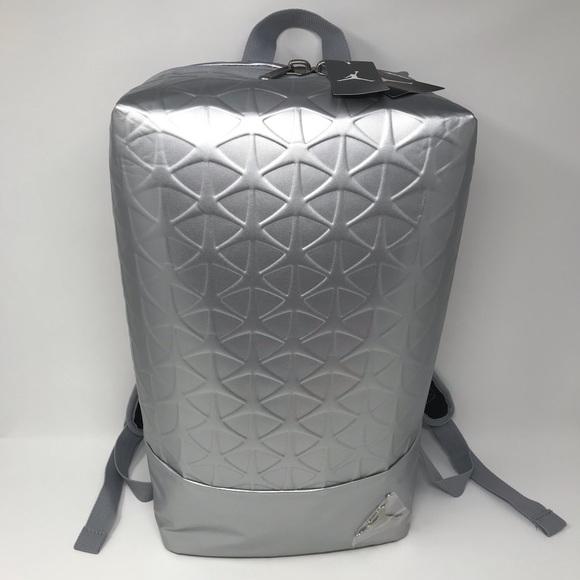 467c6e44822f4a Nike Air Jordan Flight Flex Backpack Silver